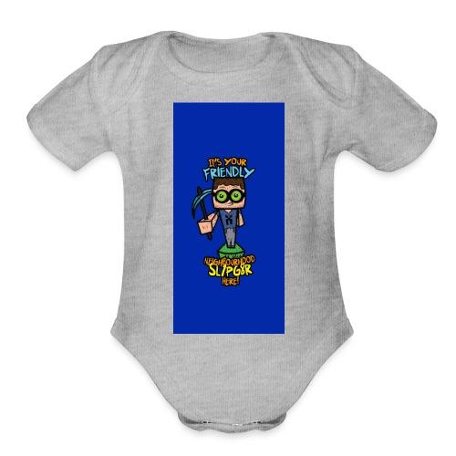 friendly i5 - Organic Short Sleeve Baby Bodysuit
