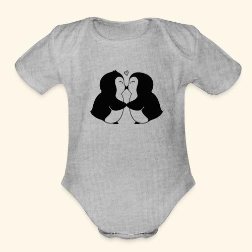 In Love Tee - Organic Short Sleeve Baby Bodysuit