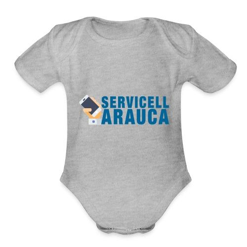 Servicell Arauca - Organic Short Sleeve Baby Bodysuit