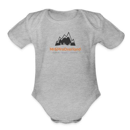 MrandMrsOverland - Organic Short Sleeve Baby Bodysuit