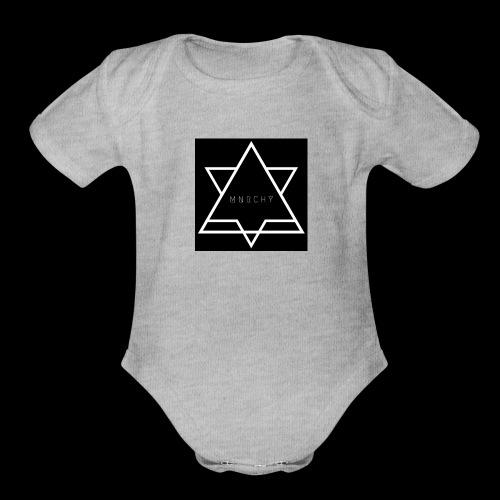M N R C H Y - Organic Short Sleeve Baby Bodysuit