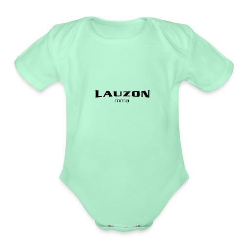lauzonmma logo svg - Organic Short Sleeve Baby Bodysuit