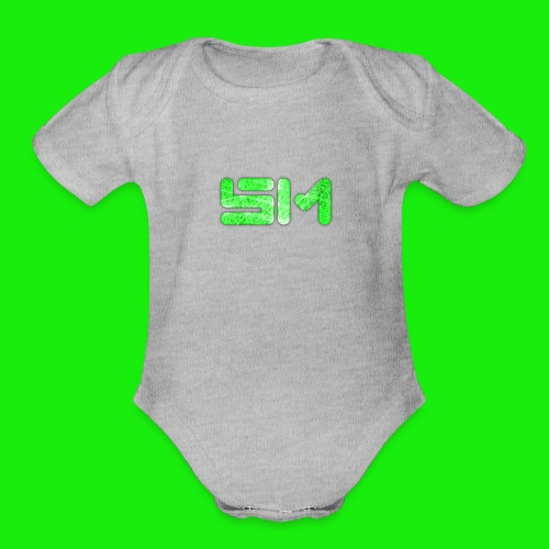 SloMotion logo - Organic Short Sleeve Baby Bodysuit