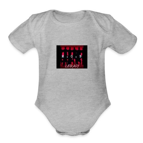 legacy M.O.B - Organic Short Sleeve Baby Bodysuit