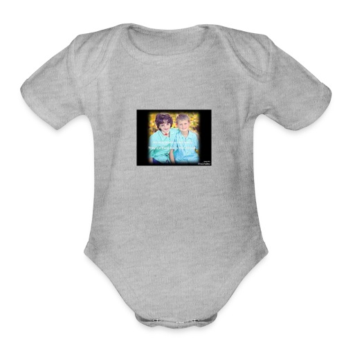 wonder - Organic Short Sleeve Baby Bodysuit
