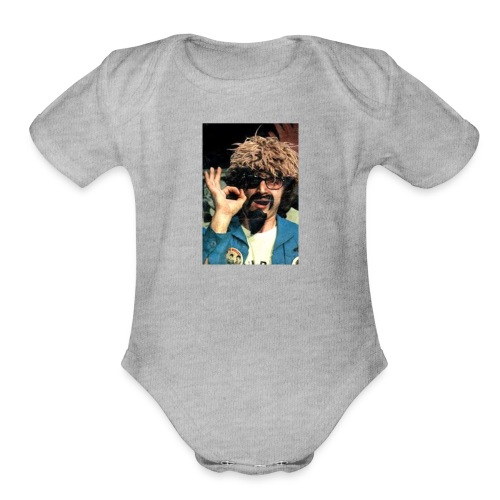 The Ghoul Channel 61 - Organic Short Sleeve Baby Bodysuit