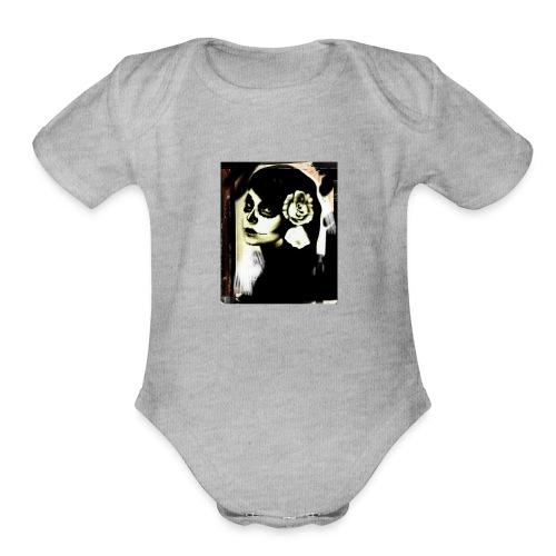 Beautiful death - Organic Short Sleeve Baby Bodysuit