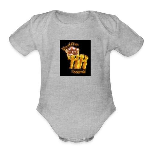 Royalties Records - Organic Short Sleeve Baby Bodysuit