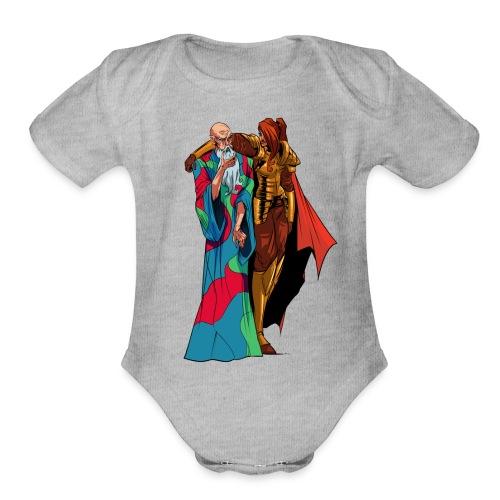 anjelicaPRO png - Organic Short Sleeve Baby Bodysuit
