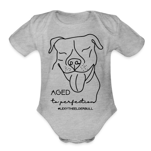 Lexy Aged To Perfection - Organic Short Sleeve Baby Bodysuit
