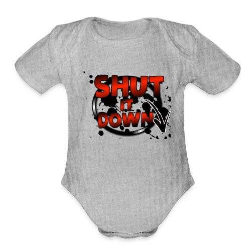 dd - Organic Short Sleeve Baby Bodysuit