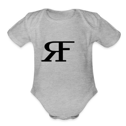 RF - Organic Short Sleeve Baby Bodysuit