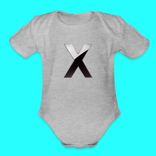 XumzyLOGO - Organic Short Sleeve Baby Bodysuit