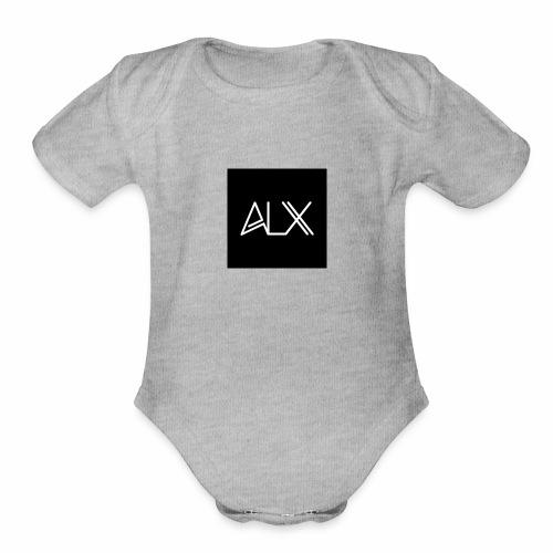 ALX LOGO - Organic Short Sleeve Baby Bodysuit