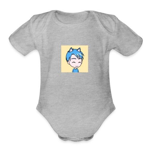 Anime sonickidxbox - Organic Short Sleeve Baby Bodysuit