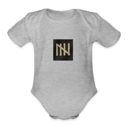 the time merch - Organic Short Sleeve Baby Bodysuit