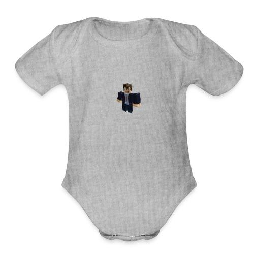 [KIDS] Stancrafting Roblox - Organic Short Sleeve Baby Bodysuit