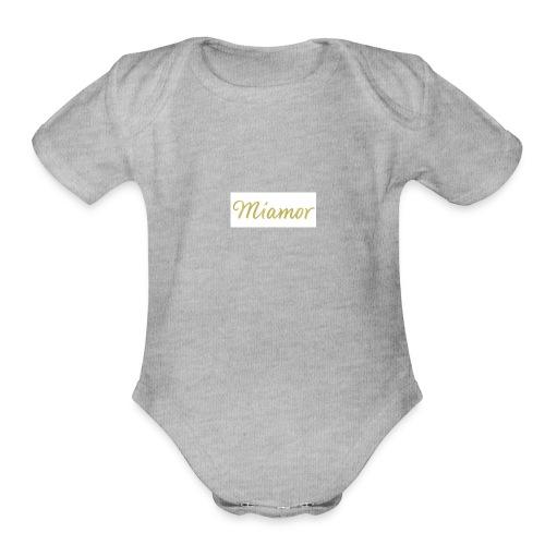MIAMOR - Organic Short Sleeve Baby Bodysuit