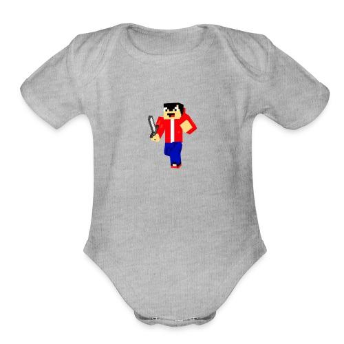 Lolylolz T-Shirt - Organic Short Sleeve Baby Bodysuit