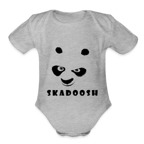 Kung Fu Panda - Organic Short Sleeve Baby Bodysuit