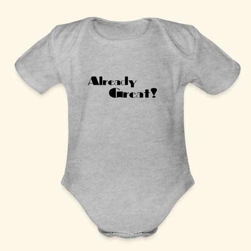 Already Great - Organic Short Sleeve Baby Bodysuit