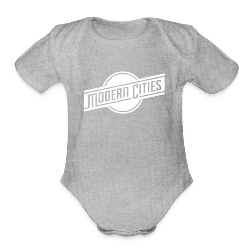 Modern Cities - Organic Short Sleeve Baby Bodysuit