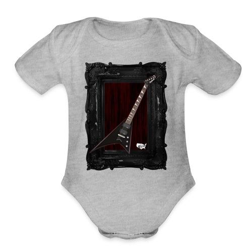 Tshirt_Jackson_Framed_V2 - Organic Short Sleeve Baby Bodysuit