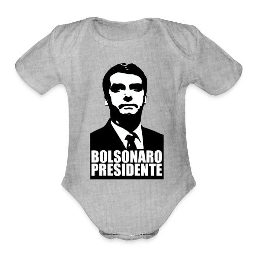 Bolsonaro Presidente - Organic Short Sleeve Baby Bodysuit