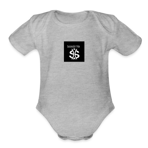 successful tribe - Organic Short Sleeve Baby Bodysuit