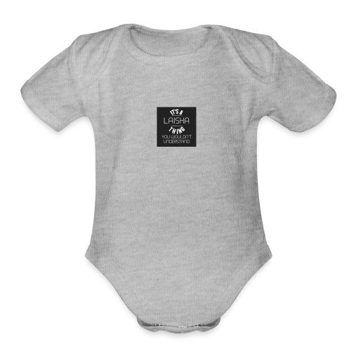 Itsalaishathing - Organic Short Sleeve Baby Bodysuit