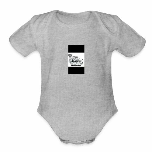 Sports teem - Organic Short Sleeve Baby Bodysuit