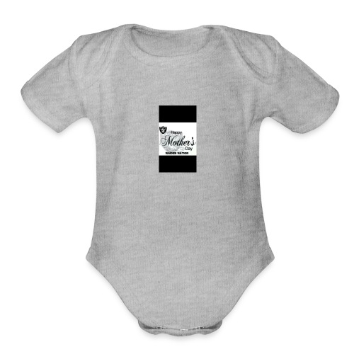 Sports teem - Organic Short Sleeve Baby Bodysuit