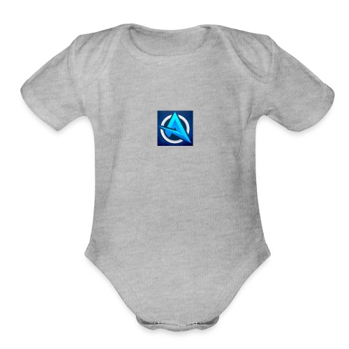 Adhil Vlogs - Organic Short Sleeve Baby Bodysuit
