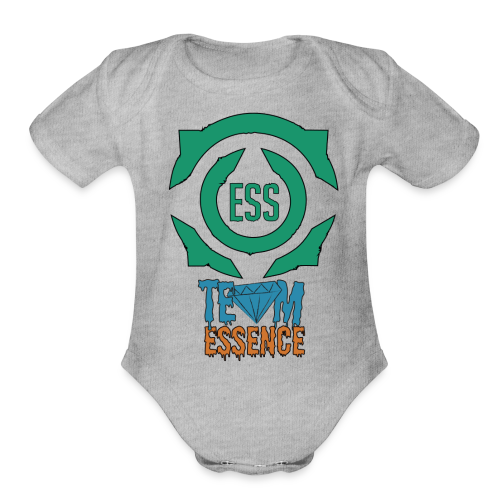 Team Essence Illustration - Organic Short Sleeve Baby Bodysuit