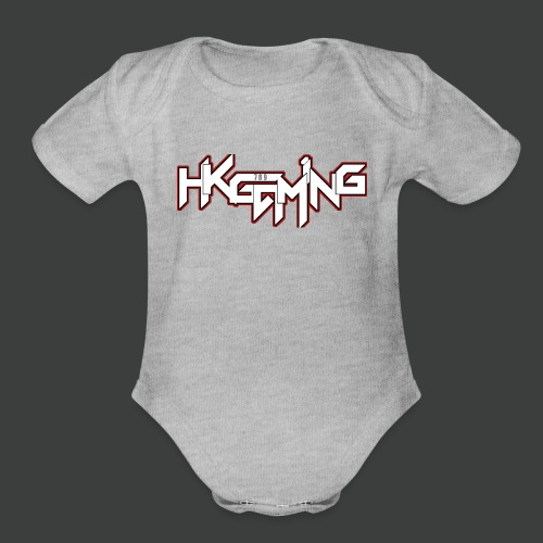 HK Clothing collection - Organic Short Sleeve Baby Bodysuit