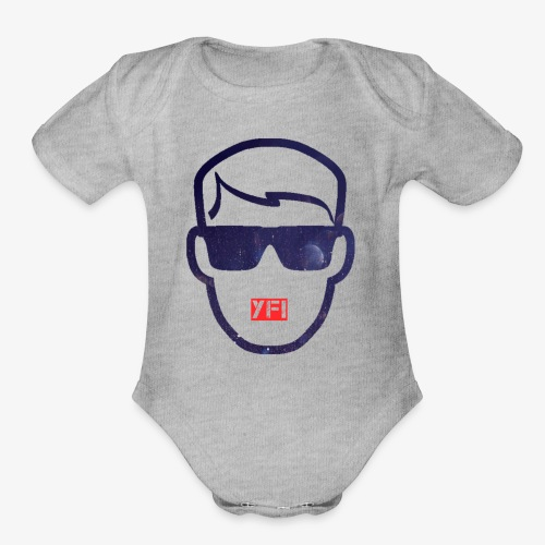 Your Face Inc. - Organic Short Sleeve Baby Bodysuit