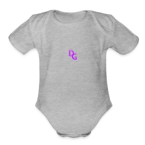 DG - Organic Short Sleeve Baby Bodysuit