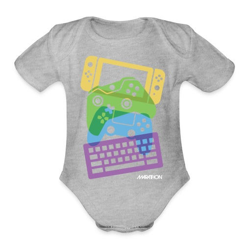 Cascading Controllers - Organic Short Sleeve Baby Bodysuit