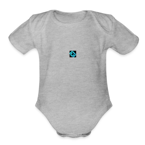 Seller Logo - Organic Short Sleeve Baby Bodysuit