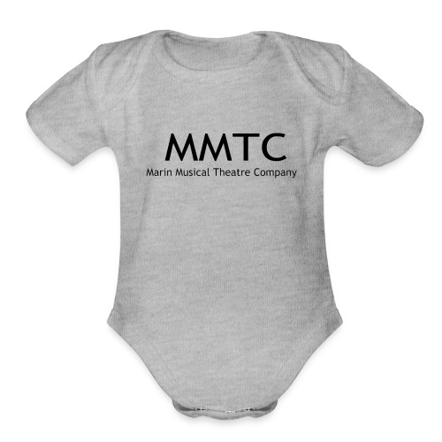 MMTC Letters - Organic Short Sleeve Baby Bodysuit