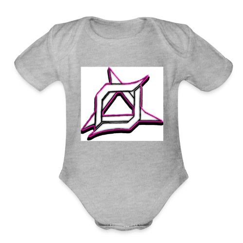 Oma Alliance Pink - Organic Short Sleeve Baby Bodysuit