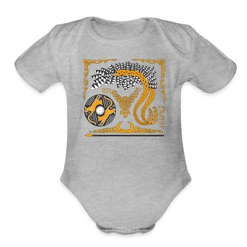 Freya's Tears - Organic Short Sleeve Baby Bodysuit