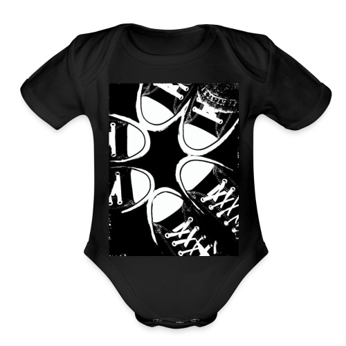 Friends with same taste - Organic Short Sleeve Baby Bodysuit