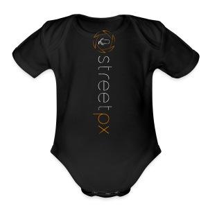 Urban Explorer StreetPX Logo - Short Sleeve Baby Bodysuit
