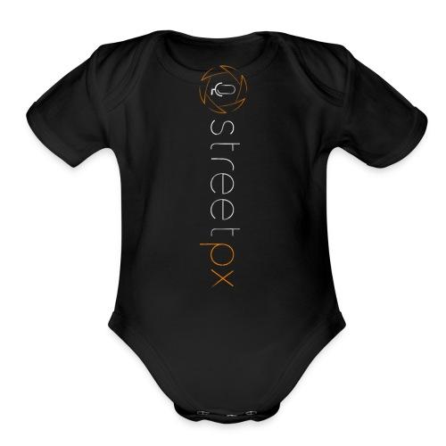 Urban Explorer StreetPX Logo - Organic Short Sleeve Baby Bodysuit