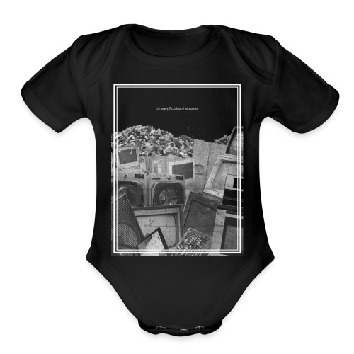 voltaire - Organic Short Sleeve Baby Bodysuit
