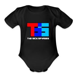 TSS Logo - Short Sleeve Baby Bodysuit