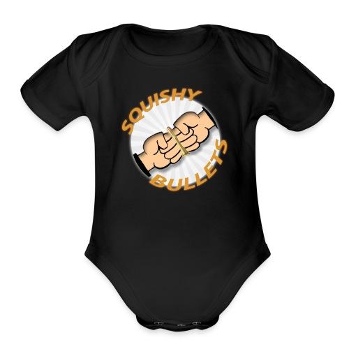 Circular Squad Logo - Organic Short Sleeve Baby Bodysuit