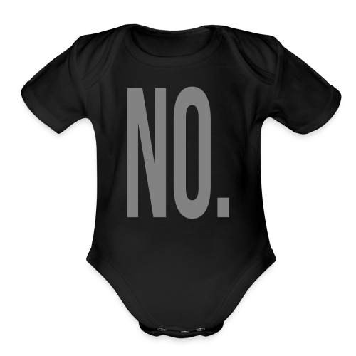 No. - Organic Short Sleeve Baby Bodysuit