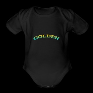 Golden shirts for kids and babys - Short Sleeve Baby Bodysuit